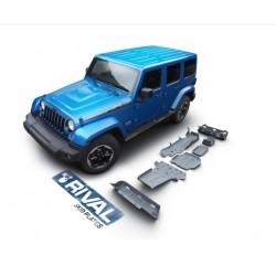 Protección Inferior de Aluminio camionetas y todoterrenos